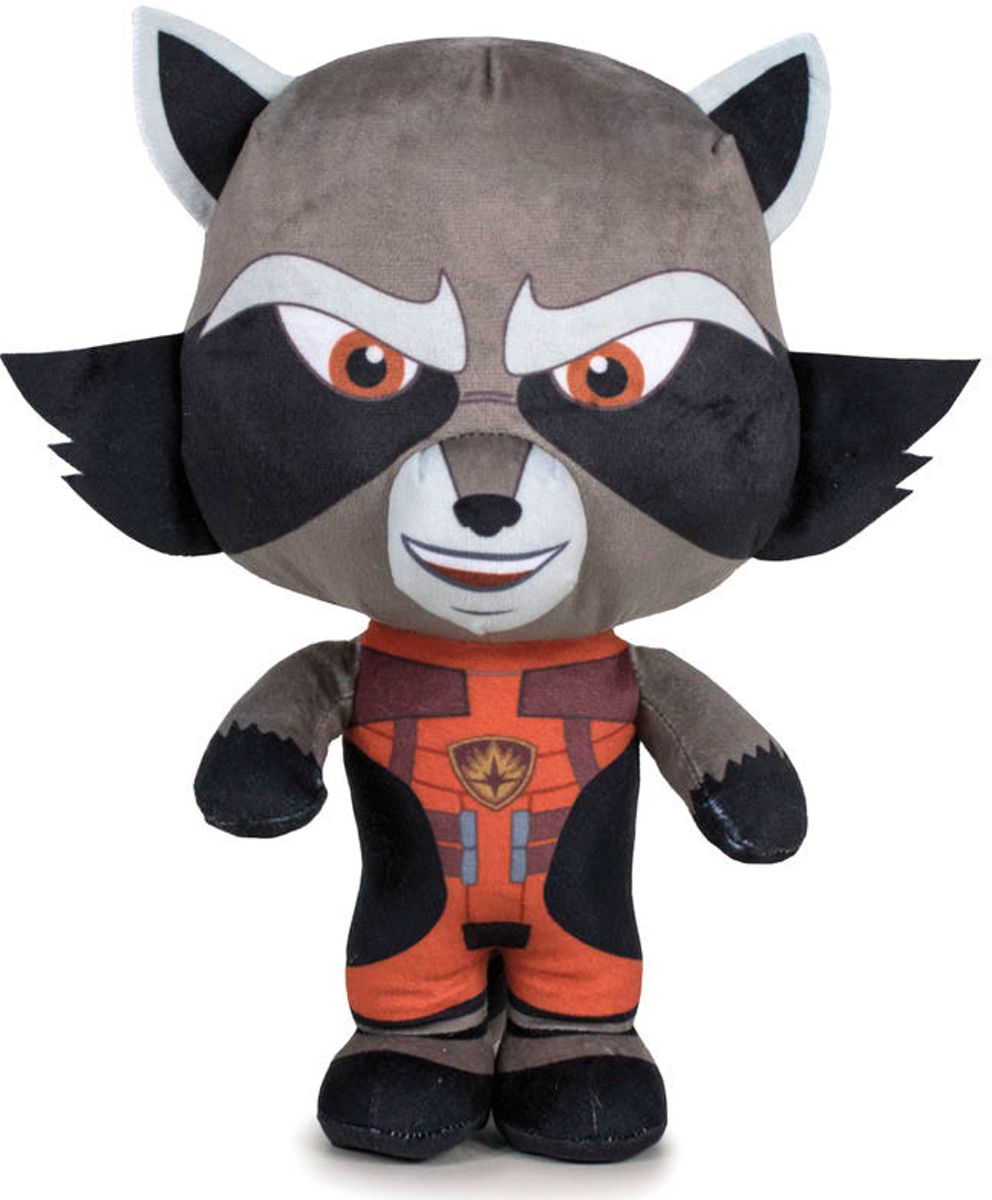Guardians of the galaxy Rocket Raccoon - knuffel - 20cm ±