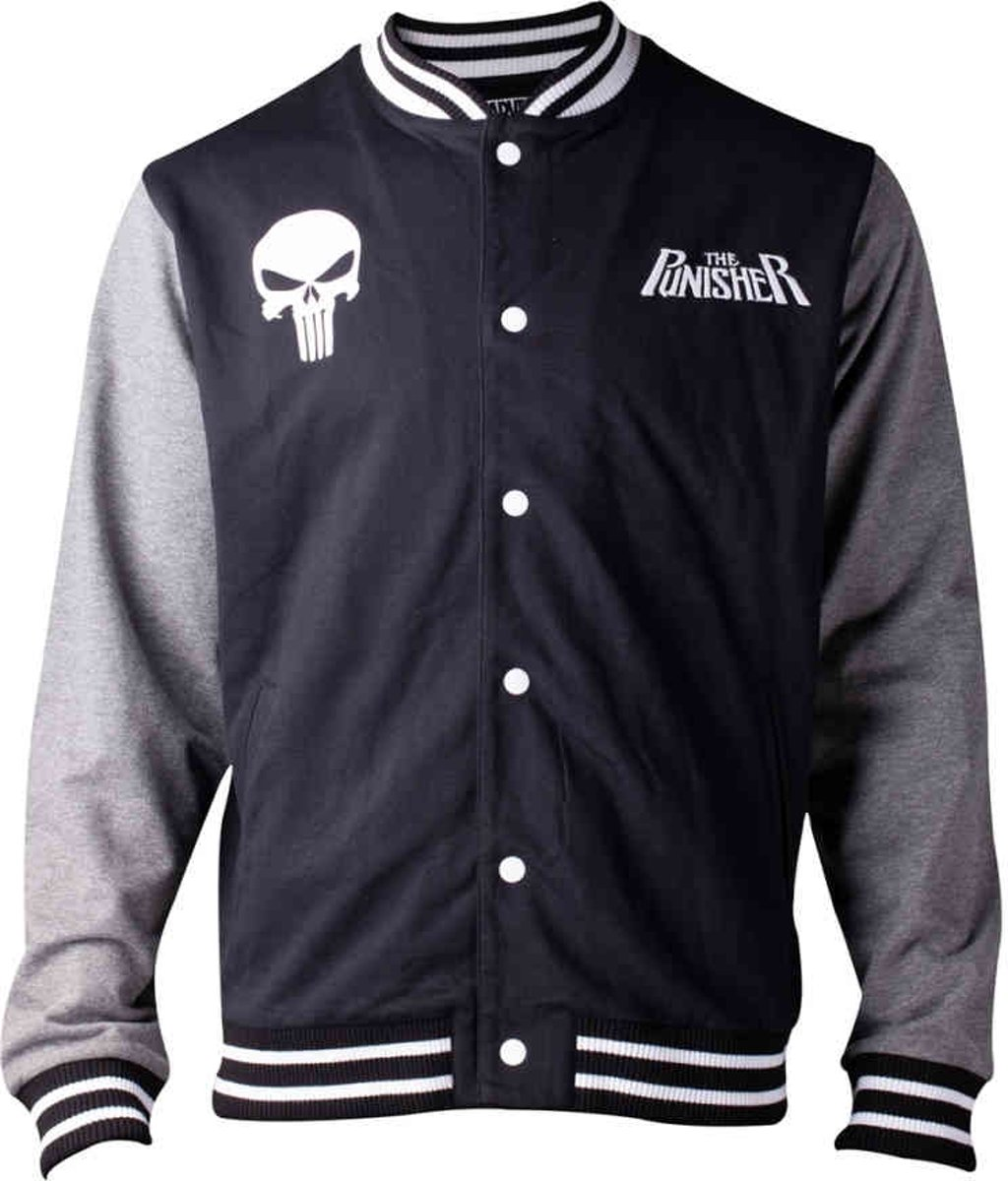 Marvel - The Punisher - Mens Varsity Jacket