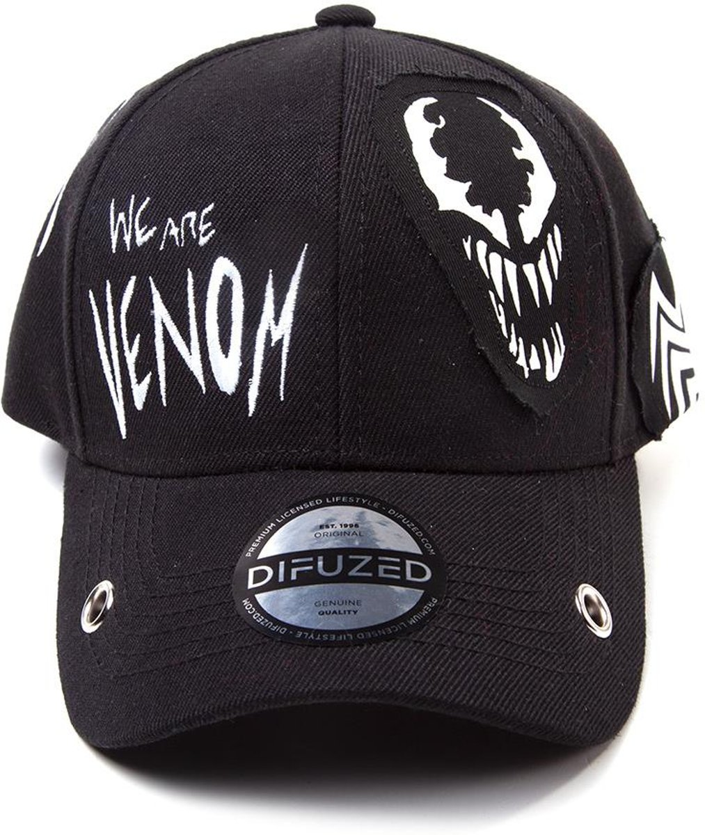 Marvel - Venom Grunge Cap With Patches
