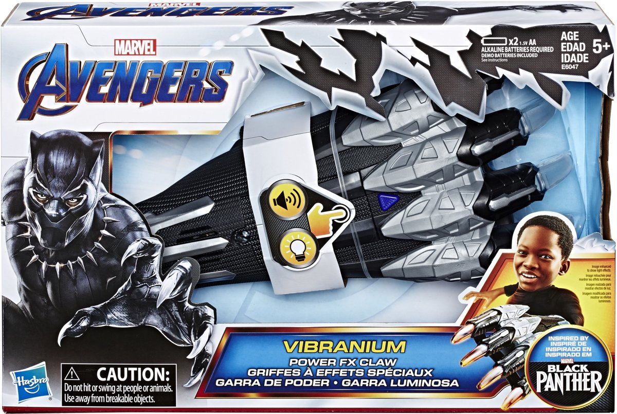 Marvel Avengers Black Panther Vibranium Fx Claw