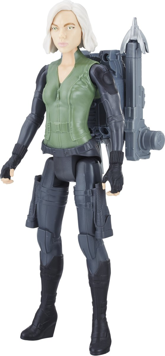 Marvel Avengers: Infinity War Titan Hero Power FX Black Widow - 28,5 cm - Actiefiguur
