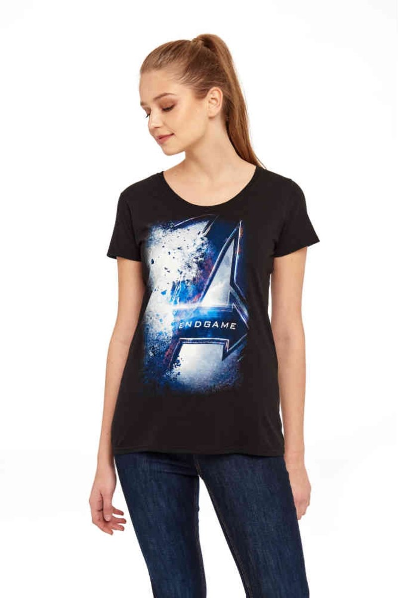 Marvel The Avengers Dames Tshirt -XL- Endgame Zwart