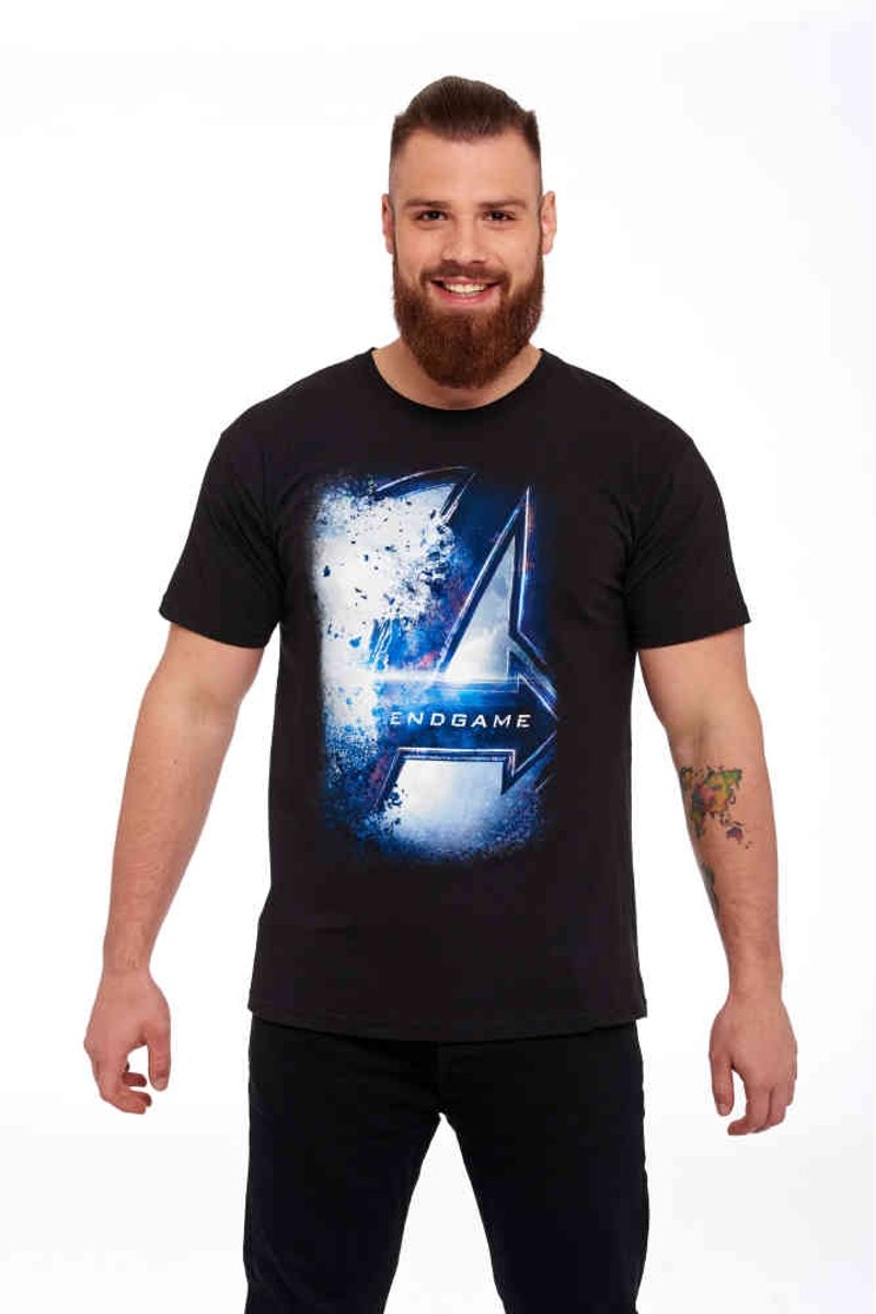 Marvel The Avengers Heren Tshirt -S- Endgame Zwart