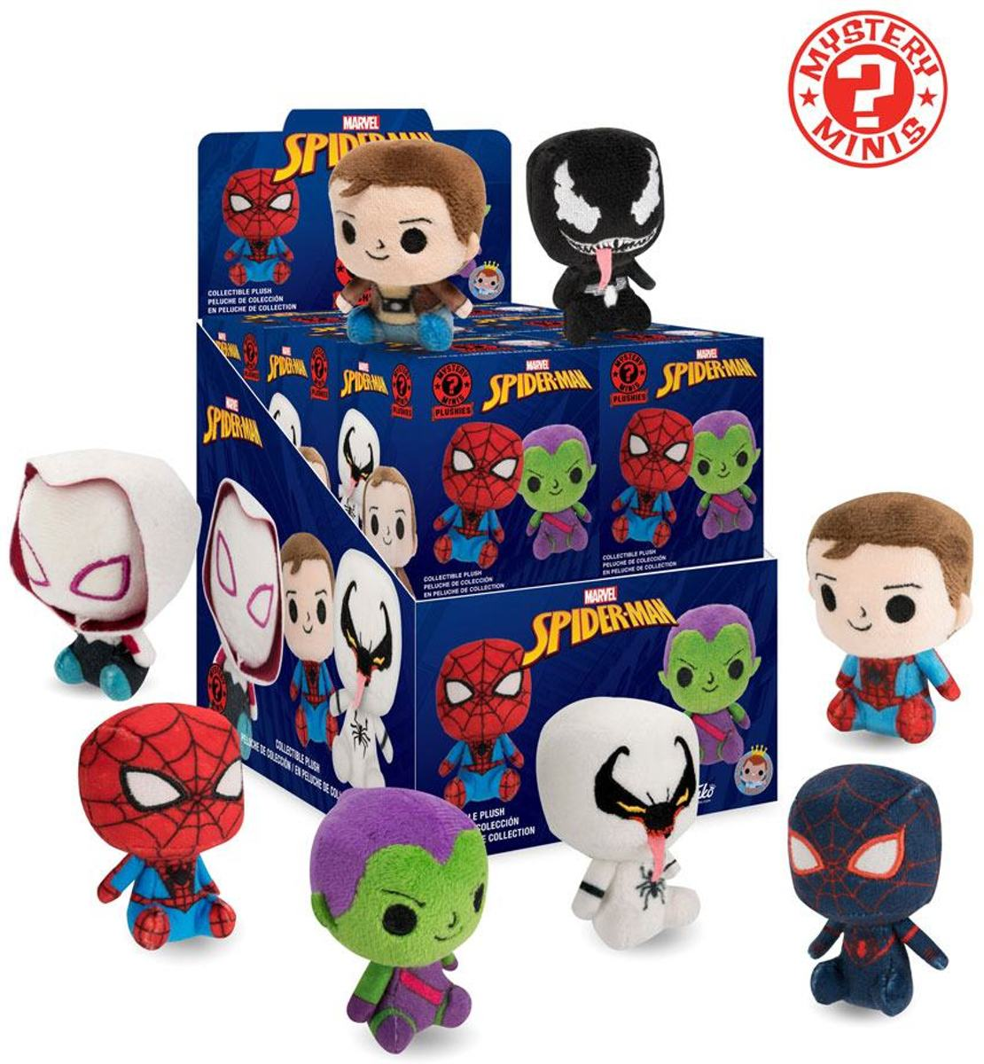 Spiderman Mystery plushies - 1 doosje