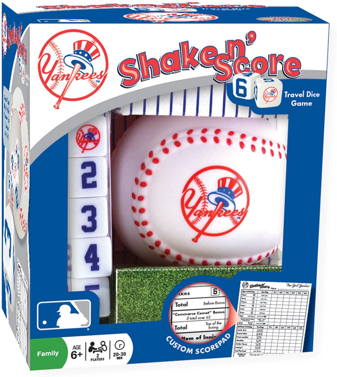 MLB New York Yankees Shake n Score Dice Game by MasterPieces