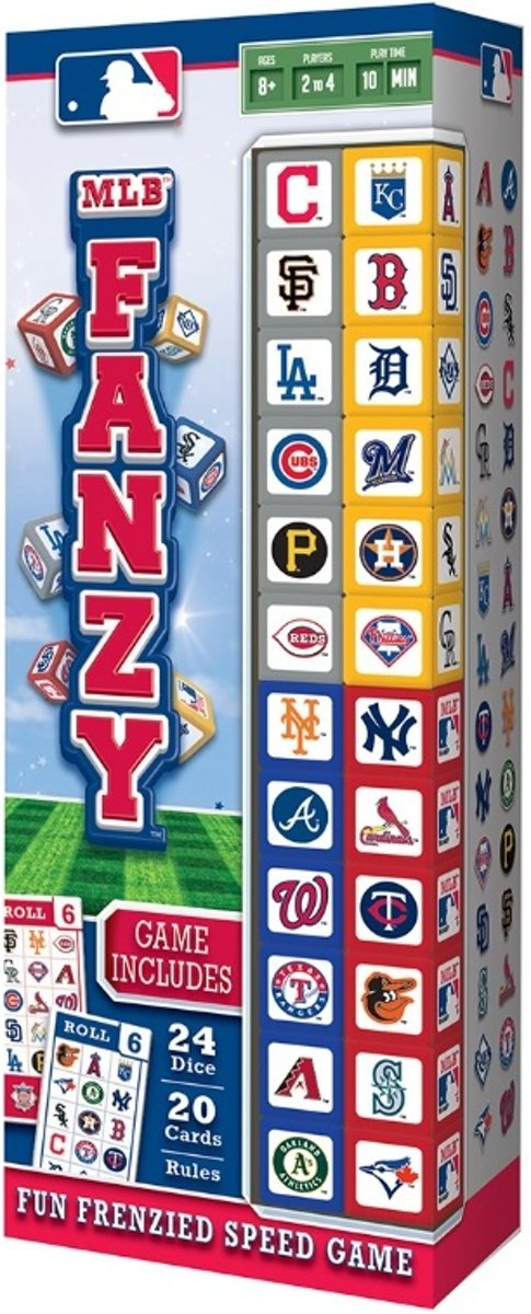 Masterpieces MLB Fanzy Bordspel