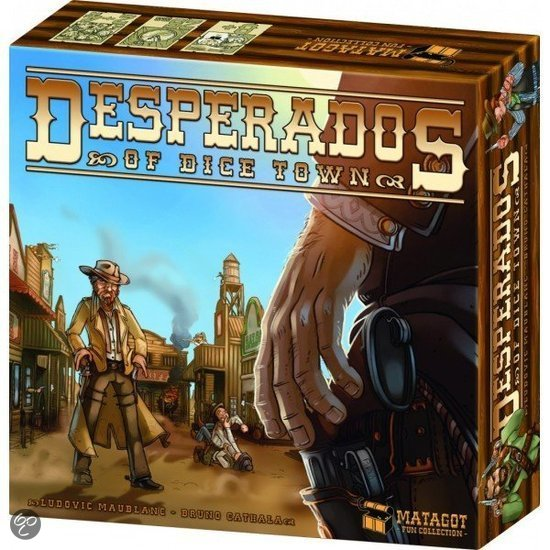 Dice Town Desperados - Bordspel