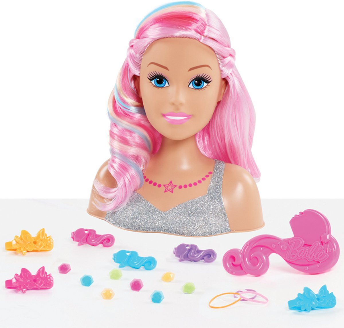 Barbie Dreamtopia   - Rainbow Styling Head