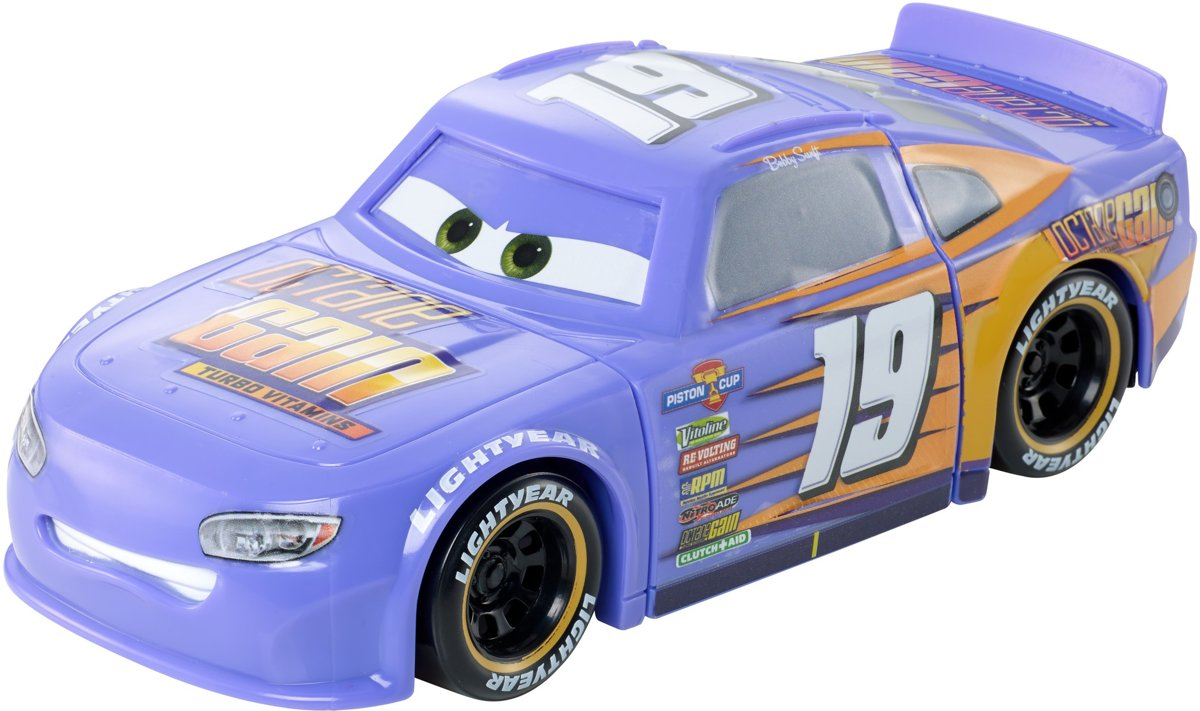 Cars 3 Race & Draai Bobby Swift - Speelgoedauto
