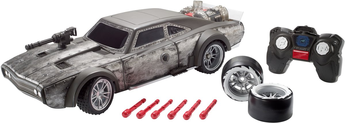 Fast and Furious RC Deluxe Action - Bestuurbare auto
