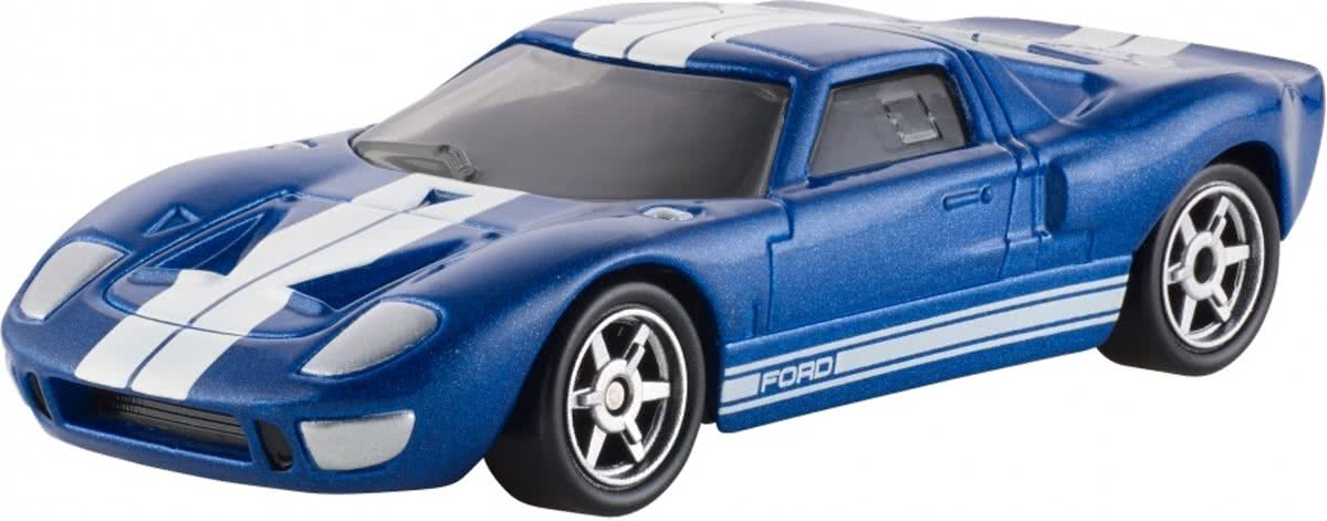 Fast & Furious Ford Gt-40 Auto Blauw 9 Cm