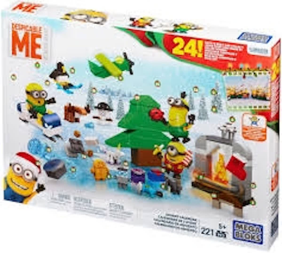 Mega Blocks Minions Movie Adventkalender