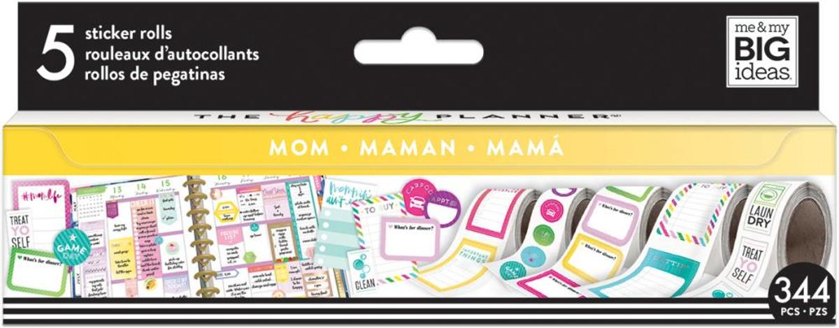 Me and My Big Ideas - Happy Planner Sticker Roll - MOM - 344 Stuks