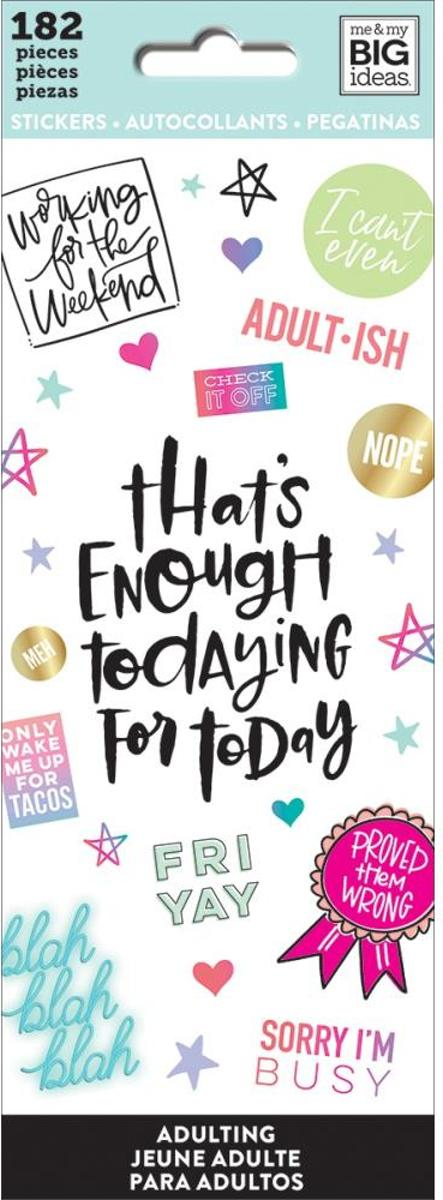 Me and My Big Ideas - Happy Planner Stickers -  Adultish