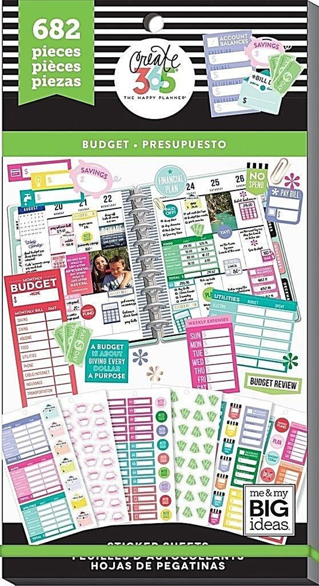 Me and My Big Ideas - Happy Planner Value Pack - Budget - 682Pieces