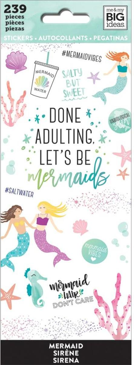 Me and My Big Ideas- Happy Planner Stickers - Mermaid Vibes