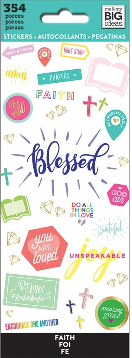 Me and My Big ideas - Happy Planner Stickers - Blessed