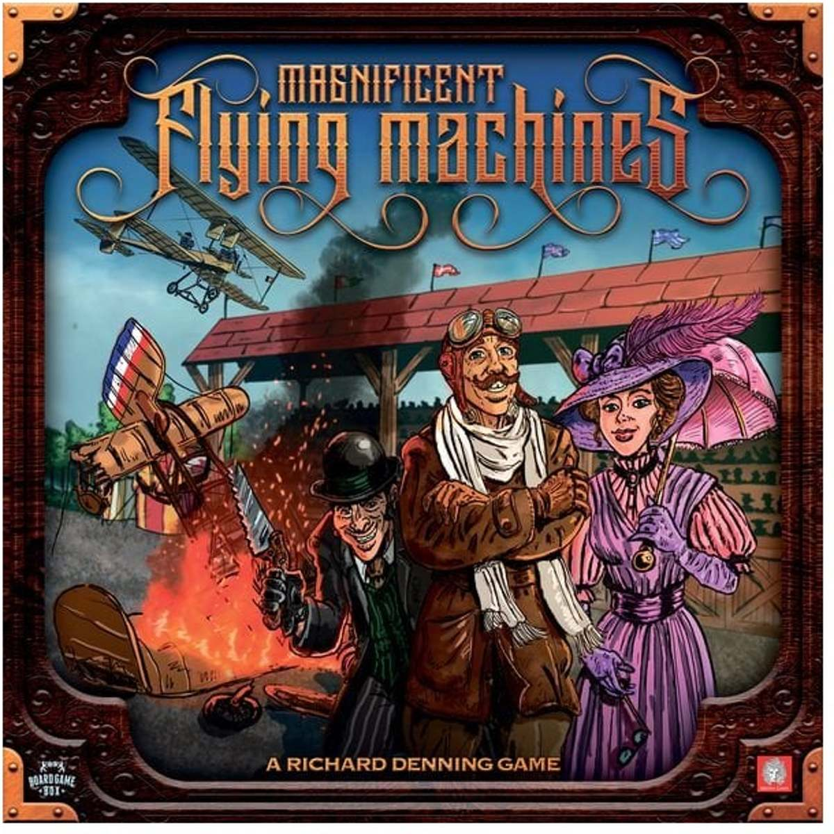 Magnificent Flying Machines Boardgame