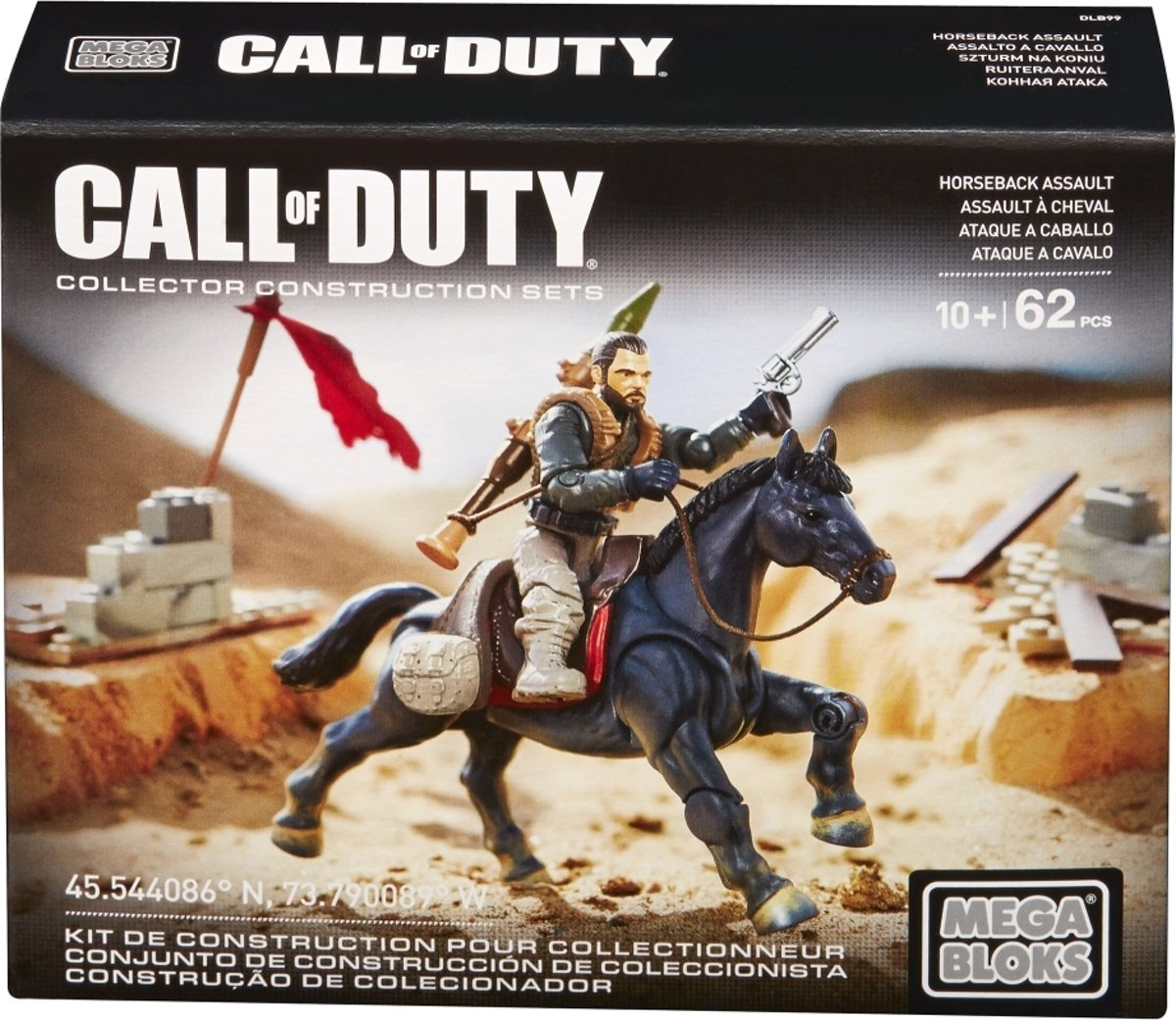 Horseback Assault Mega Bloks Call of Duty