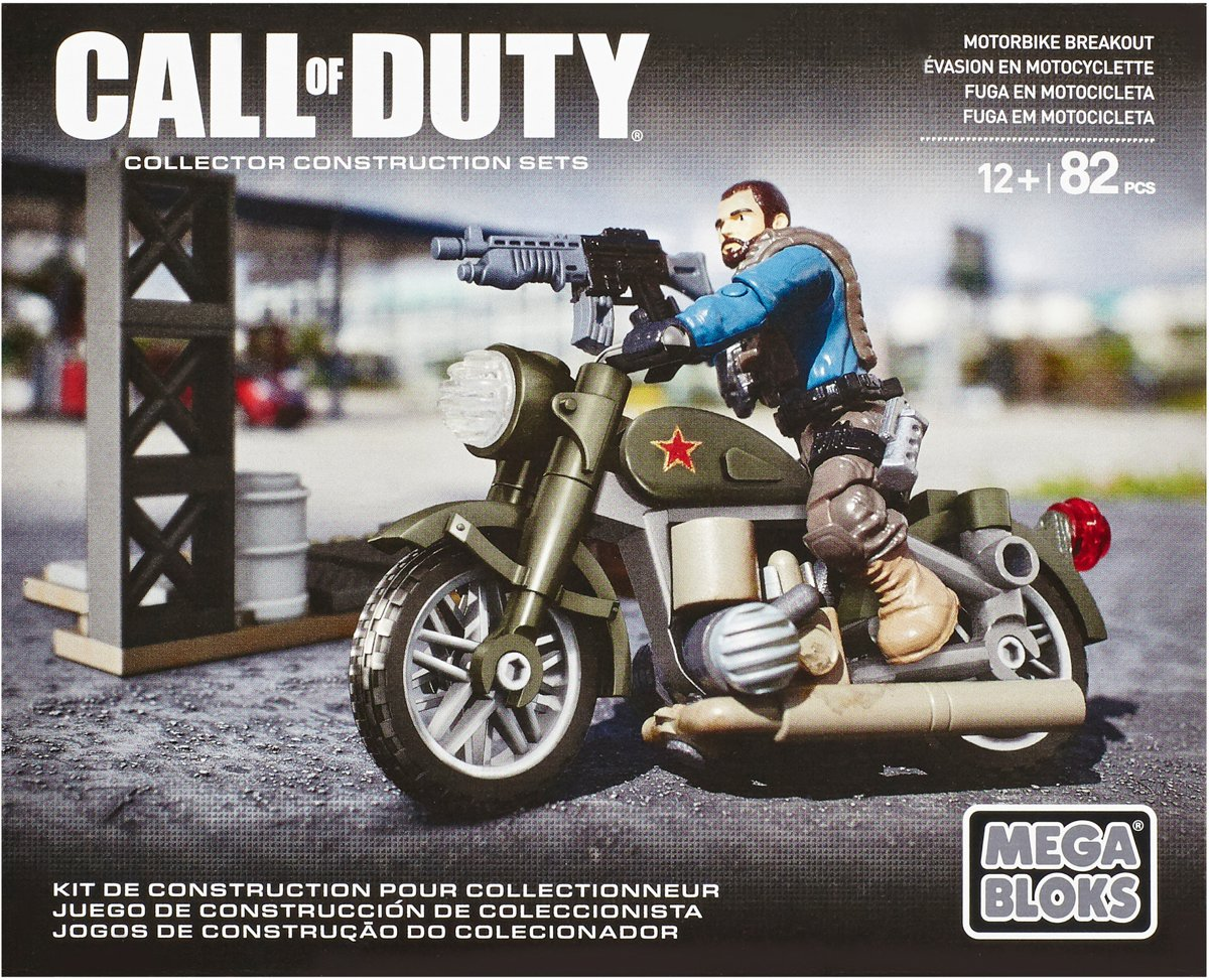 Mega Bloks Call Of Duty Motorbike Breakout - Constructiespeelgoed