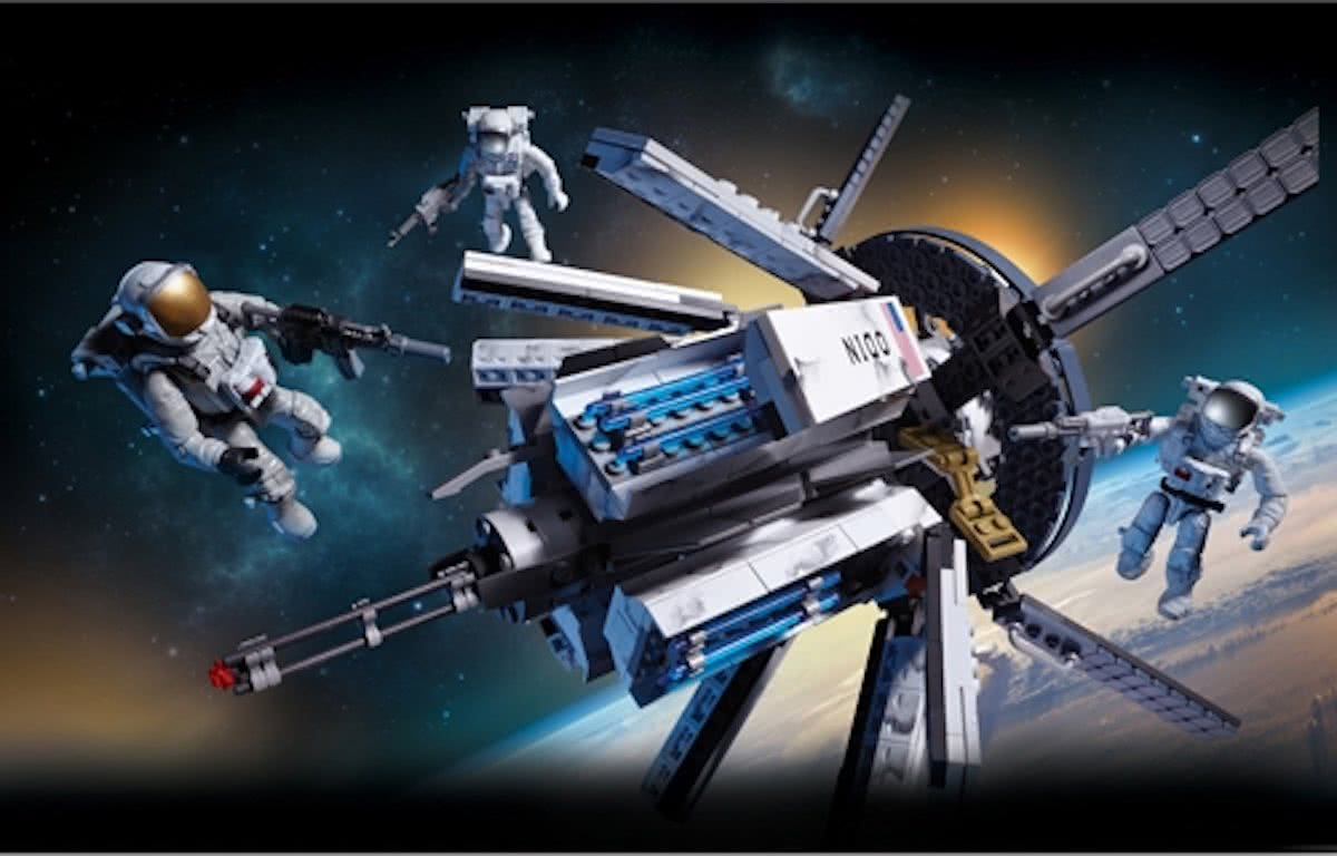 Mega Bloks Call Of Duty Odin Space Station - Constructiespeelgoed