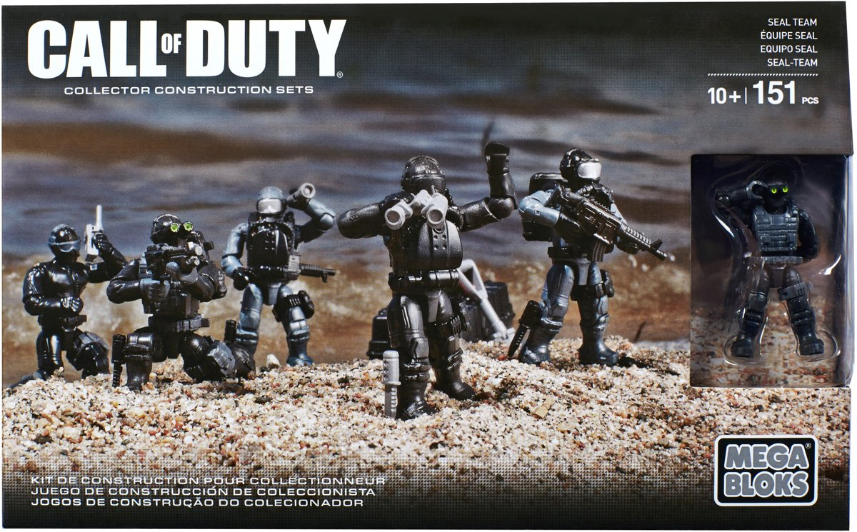 Mega Bloks Call Of Duty Seal Team - Constructiespeelgoed