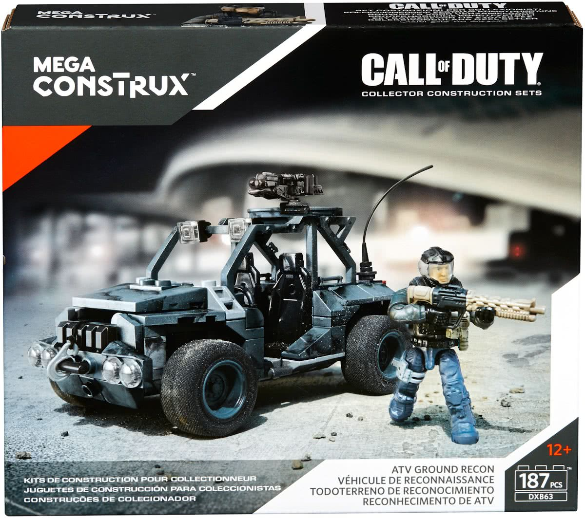 Mega Bloks Call of Duty ATV Ground Recon - Constructiespeelgoed