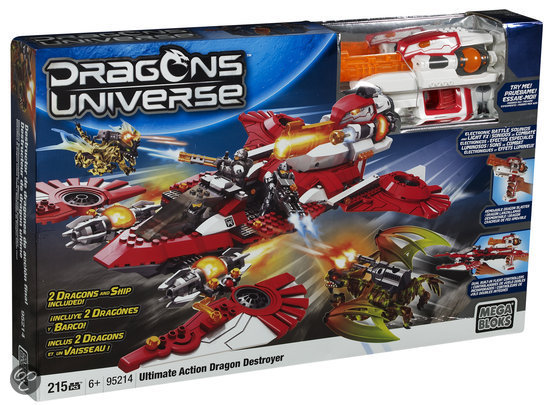 Mega Bloks Dragons Ultimate Action - Constructiespeelgoed