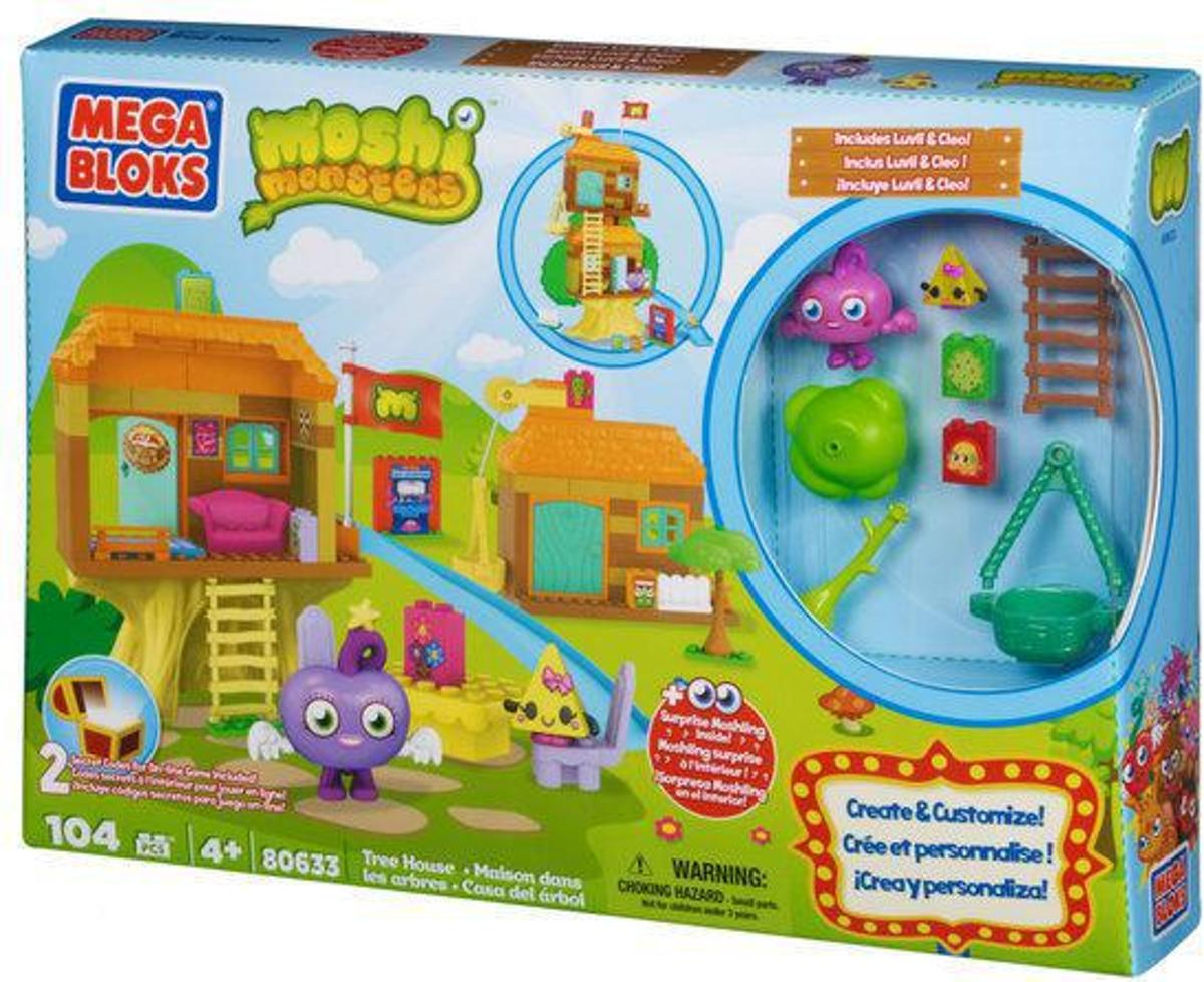 Mega Bloks Moshi Monster Tree House