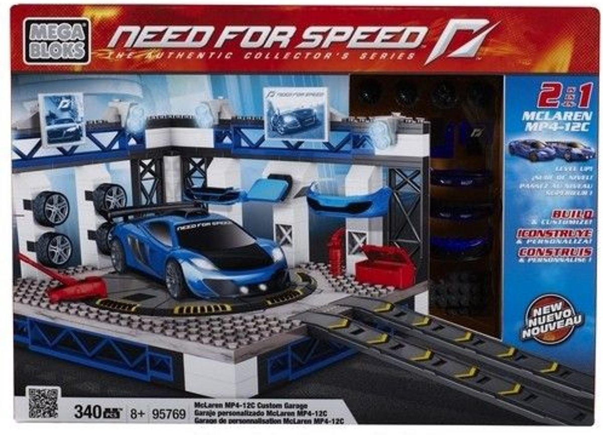 Mega Bloks Need for Speed Custom Garage - Constructiespeelgoed