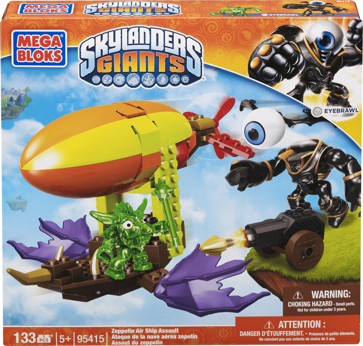 Mega Bloks Skylanders Zeppelin Air Ship Assault