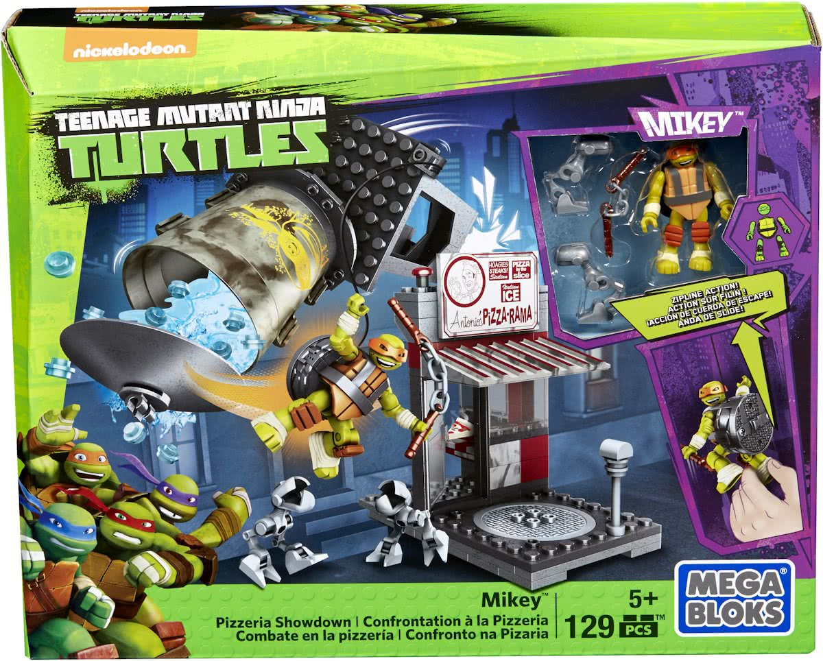 Mega Bloks Teenage Mutant Ninja Turtle JR. Pizzeria Showdown - Constructiespeelgoed