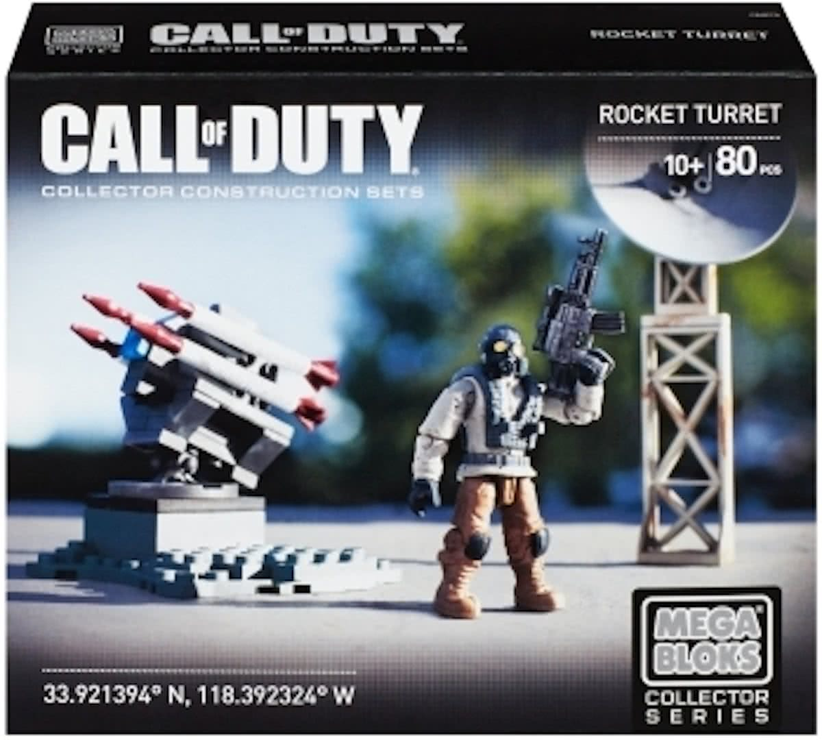 Rocket Turret Mega Bloks Call of Duty