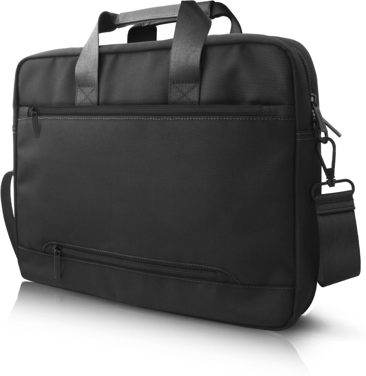 Laptoptas 15 inch Pattern III Mercedes-Benz Universeel  Zwart - Carry Bag - Kunstleer