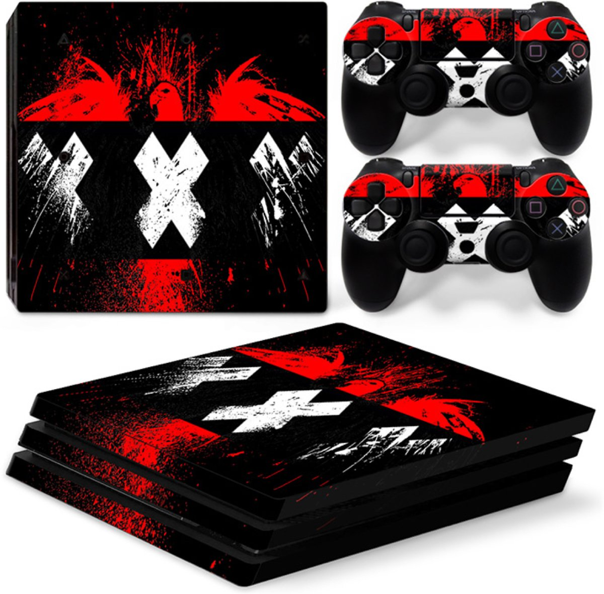 Amsterdam XXX - PS4 Pro Console Skins PlayStation Stickers