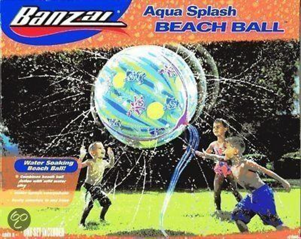 Banzai Watersproeier beachbal