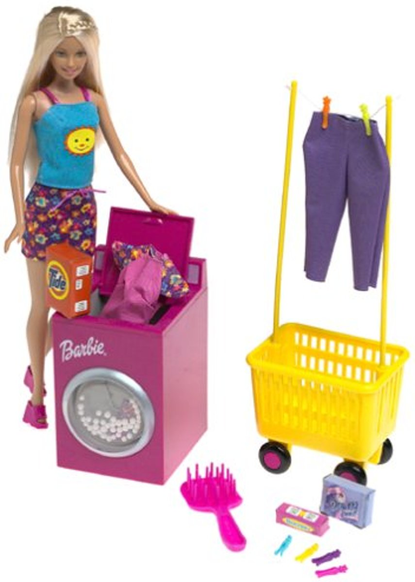 Barbie wassalon