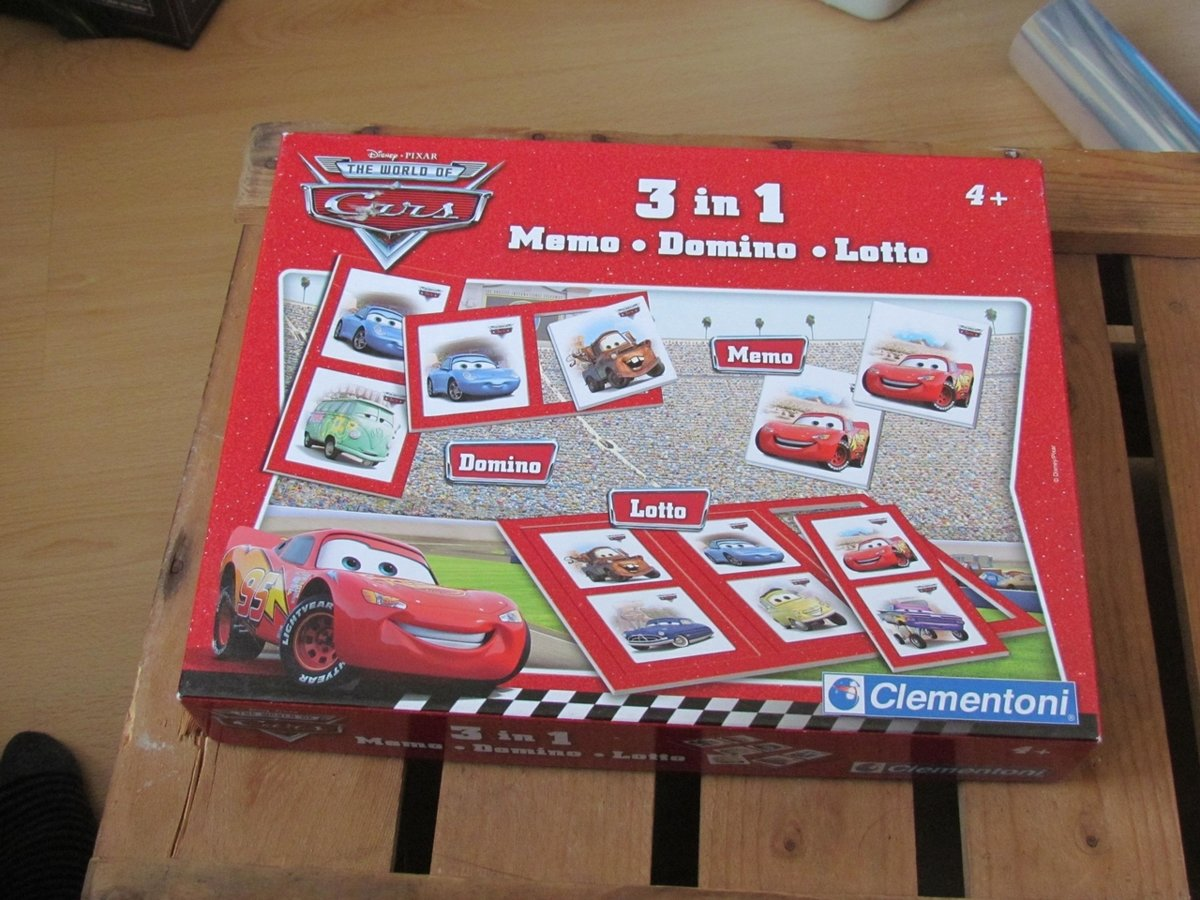 Cars Spel Cars 3 In 1