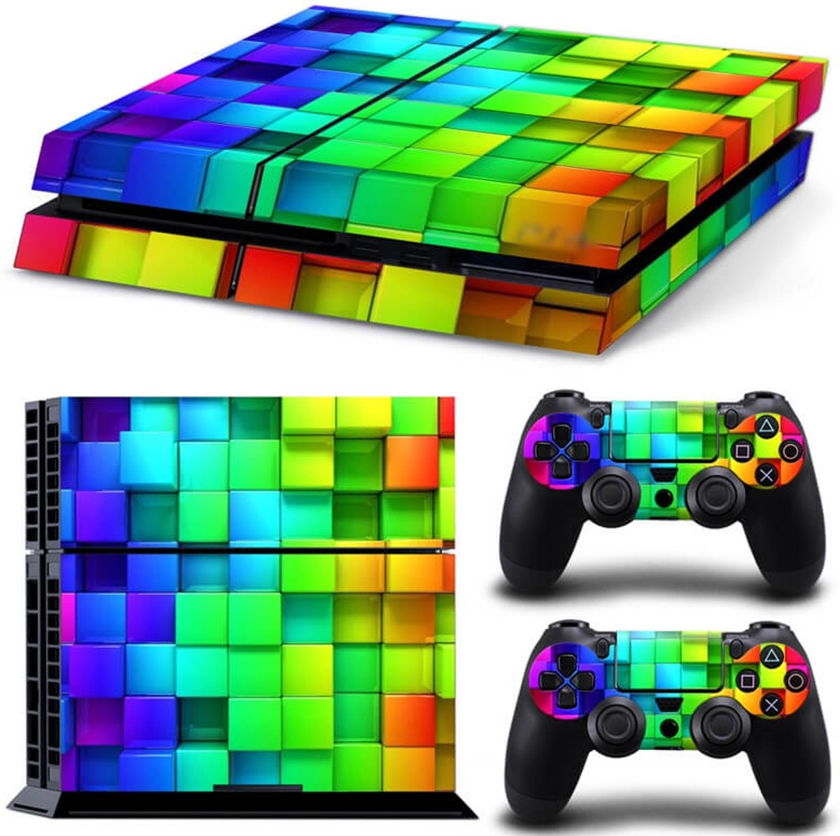 Cubes - PS4 skin