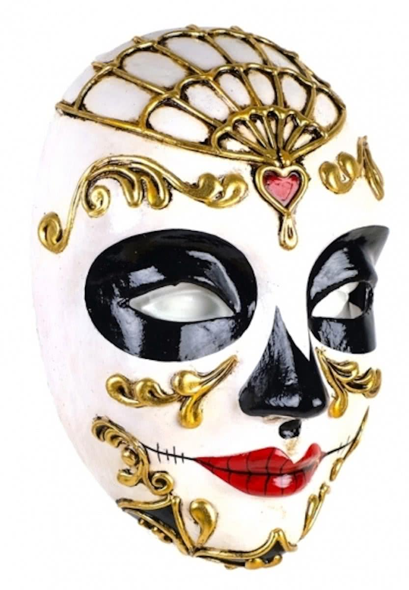 Day of the dead Morte masker