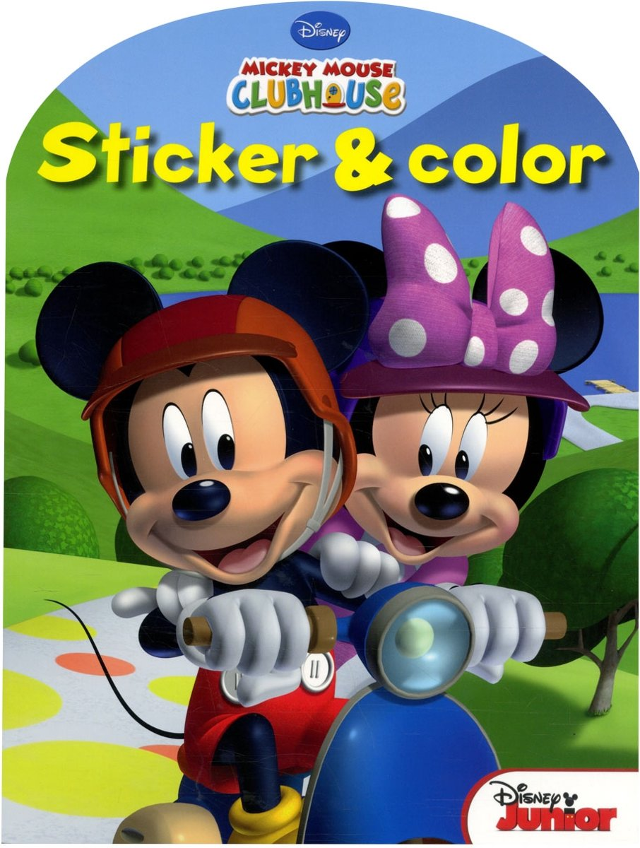 Disney Sticker & Color - Mickey Mouse