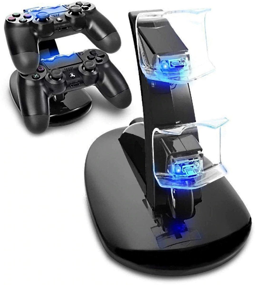 Dubbel Dock Lader Voor PS4 Controllers - Laadstation PS4 - Charger Controller PS4