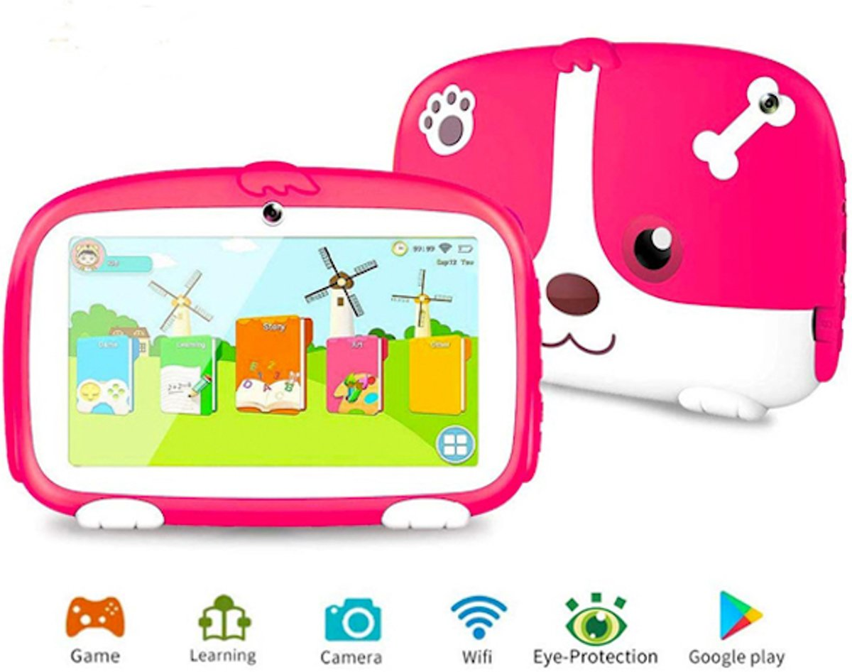Educatieve Kindertablet 9.0 - Android - Roze