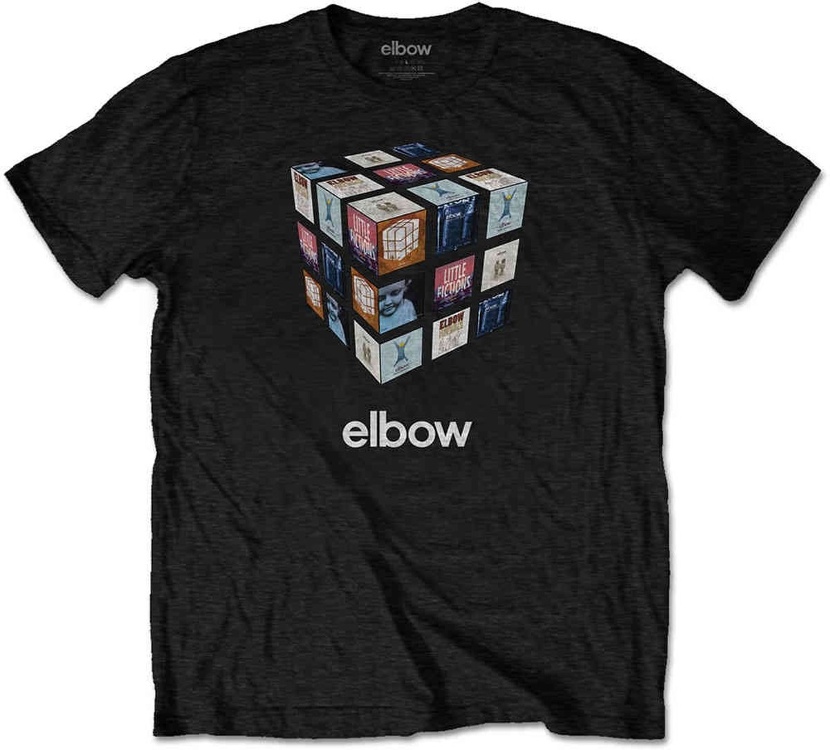 Elbow Heren Tshirt -L- Best Of Zwart