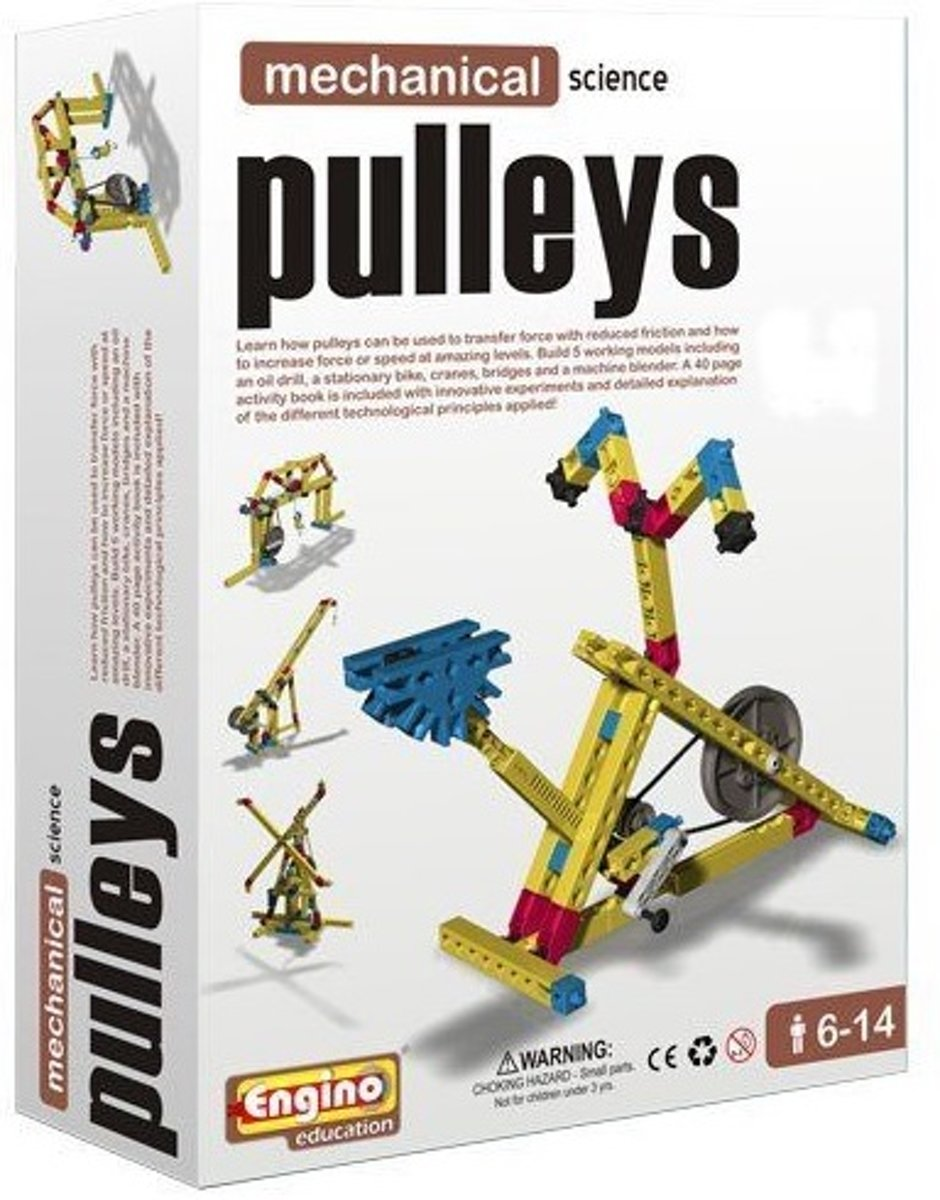 Engino Education - Mechanical Science - Bouw - Pulleys