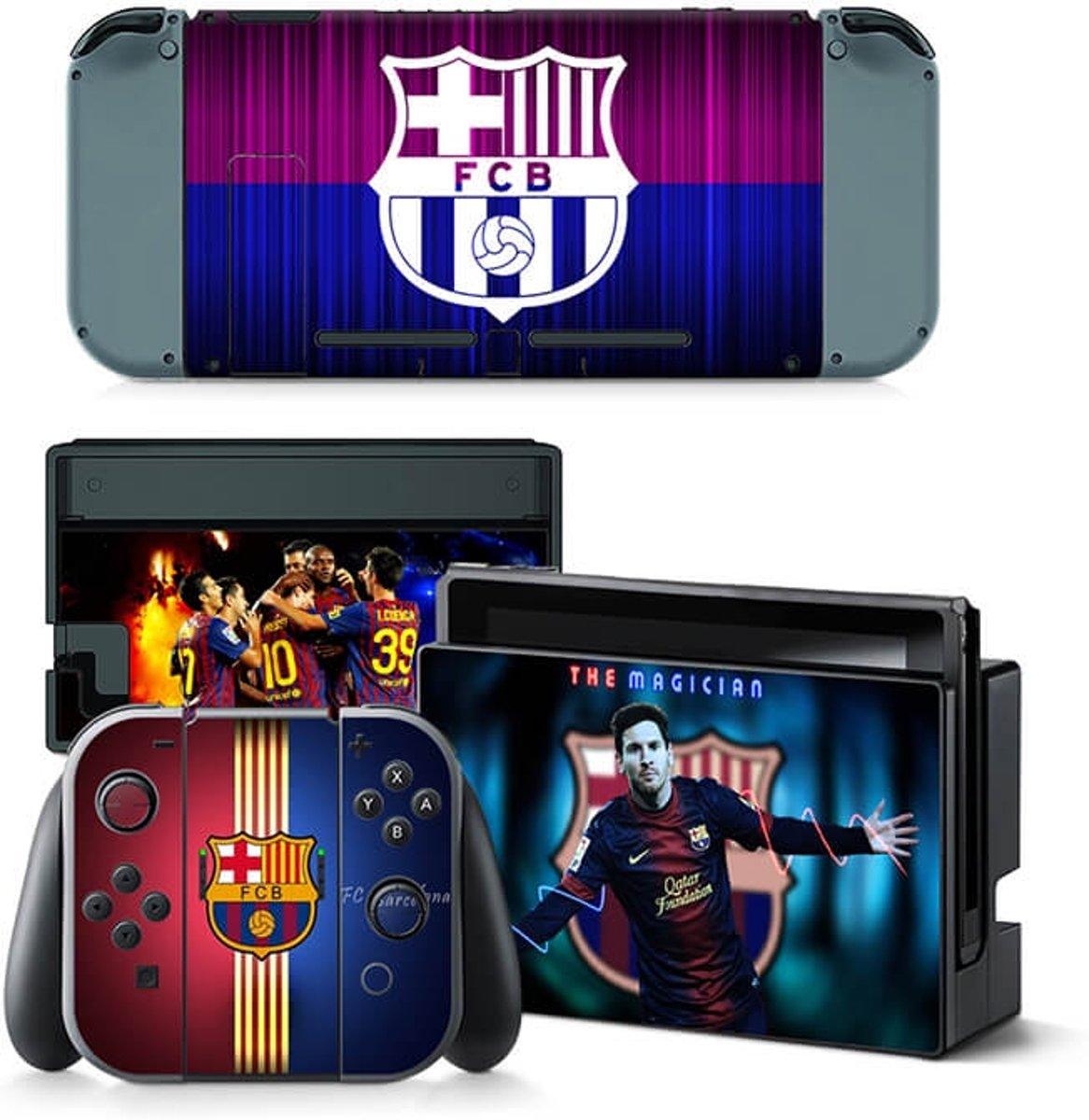 FC Barcelona - Nintendo Switch Skin