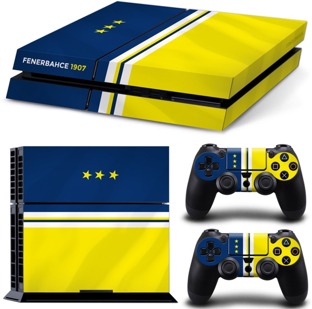 Fenerbahce - PS4 Console Skins PlayStation Stickers