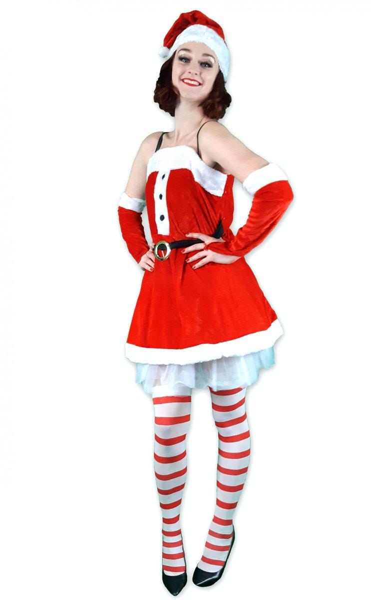 128b9dd6175f52 Fluwelen kerstjurk