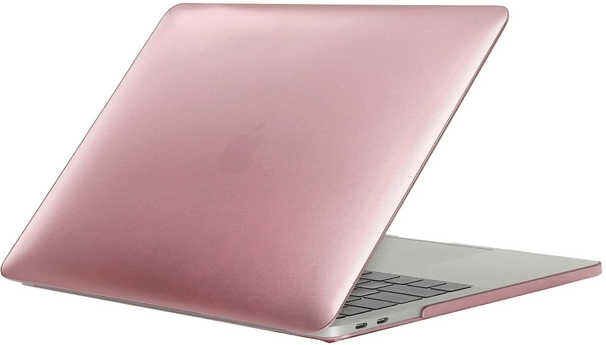 For 2016 New Macbook Pro 13.3 inch A1706 & A1708 Laptop PC + Metal Oil Surface beschermings hoesje (Rose Gold)