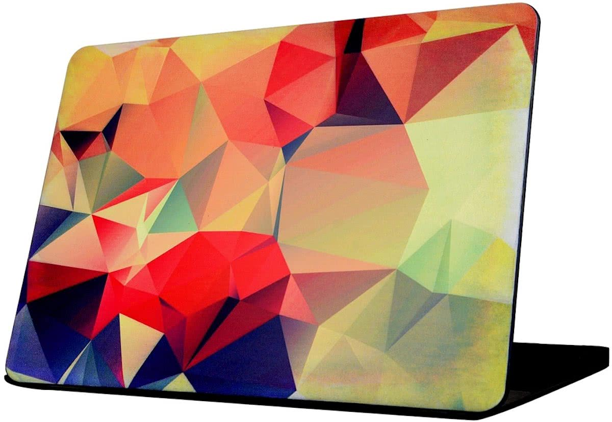 For Macbook Air 11.6 inch (2011 - 2013) A1370 & A1465 / MD711 / MC968 / MC969 / MD712 / MD224 Colorful Origami patroon Laptop Water Decals PC beschermings hoesje